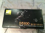 Nikon D5100 Цифровые зеркальные фотокамеры с AF-S VR DX 18-55mm объект