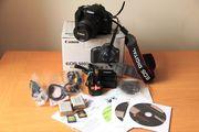Canon EOS 500D 15.1MP Цифровые зеркальные фотокамеры - черный (комплек